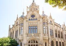 Presidiet av akademin av vetenskaper av Azerbajdzjan lokaliseras i Baku Gotiskt för stil för arkitektonisk stil Venetian royaltyfri fotografi