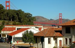 Presidio Bridge Stock Images