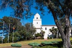 Presidio parkerar, platsen av den första europeiska bosättningen i San Diego Fotografering för Bildbyråer