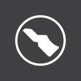 Presione el pedal de embrague Fotos de archivo libres de regalías