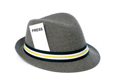 Presione el sombrero Imagenes de archivo