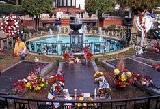 Presley pomnika ogród, Graceland zdjęcia stock
