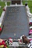 presleys могилы elvis Стоковые Фотографии RF