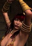 Preso de la mujer del Amazonas Imagen de archivo