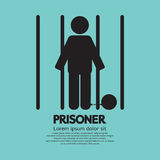Preso en símbolo de la cárcel Fotos de archivo