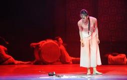Preso il terzo atto del erhu-The degli eventi di dramma-Shawan di ballo del passato Fotografia Stock Libera da Diritti