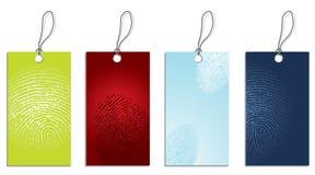Preso le impronte digitali a Fotografia Stock Libera da Diritti
