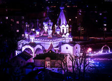 Presov - ortodox kyrka Arkivfoton