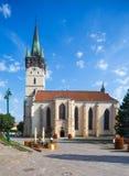 St. Nicholas church in Presov in SLovakia, Europe. Presov, Slovakia. 09 AUGUST 2015. St. Nicolas church slovak: Dom sv. Mikulasa. The oldest and most precious Royalty Free Stock Image