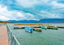 Prespa lake Royalty Free Stock Photos