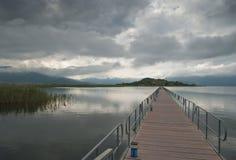 Der Prespa See in Griechenland Lizenzfreie Stockfotos