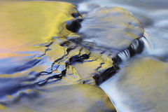 Presque Insel-Fluss stockfotografie