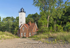 Presque Isle Lighthouse Stock Photo
