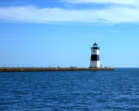 Presque Isle Pierhead light house Royalty Free Stock Photo