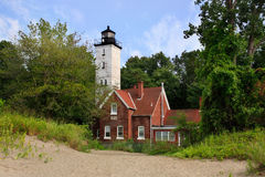 Presque Isle Lighthouse Stock Images