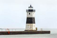 Presque Isle North Pierhead Lighthouse Stock Image