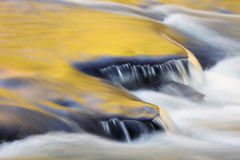Presque Isle River Cascades Royalty Free Stock Photography