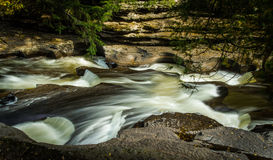 Presque Isle River Royalty Free Stock Photography