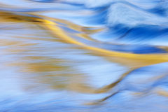 Presque Isle River Rapids. Abstract landscape of the Presque Isle River rapids captured with motion blur, Porcupine Mountains Wilderness State Park, Michigan's Royalty Free Stock Photos