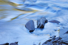 Presque Isle River Rapids. Abstract landscape of the Presque Isle River rapids, Porcupine Mountains Wilderness State Park, Michigan's Upper Peninsula, USA Stock Images