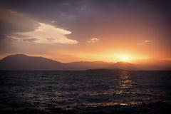 Presque un volcan Photo libre de droits