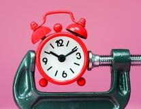 Pressão da gerência de tempo Fotografia de Stock Royalty Free