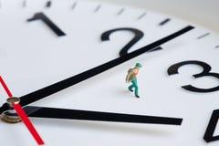 Pressão de tempo Fotografia de Stock