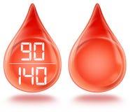 Pressão sanguínea ilustração royalty free