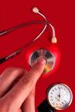 Pressão sanguínea Foto de Stock Royalty Free