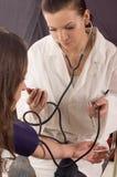 Pressão sanguínea Imagem de Stock