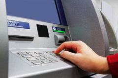 Press ATM EPP keyboard Stock Image