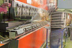 Press brake Stock Photos