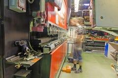 Press brake Royalty Free Stock Images