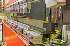Press brake Stock Image