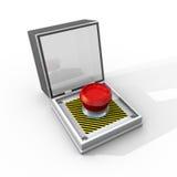 Press This Button Royalty Free Stock Photo