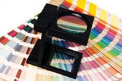 Press color management. Print production royalty free stock photography
