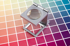 Press color management. Print production Stock Image