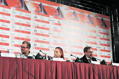 Press-conference of 37 film stock image