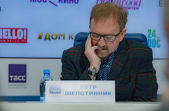 Press conference 38th moscow international film festival Stock Images