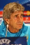 Press-Conference before UEFA Champions League game Dynamo Kyiv v Stock Photos