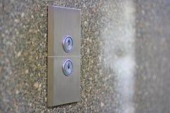 Press the elevator up and keypad. Elevator Royalty Free Stock Photos
