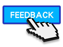 Press Feedback Button Royalty Free Stock Photography