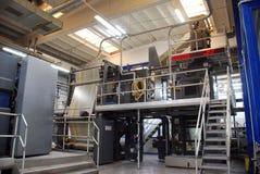Press för förskjuten printing Fotografering för Bildbyråer
