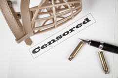 Press freedom concept Royalty Free Stock Photography