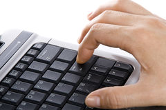 Press keyboard Royalty Free Stock Photos