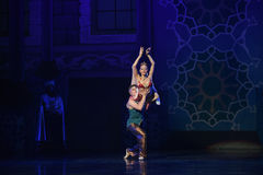 """Press lifts- ballet """"One Thousand and One Nights"""" Stock Photo"""
