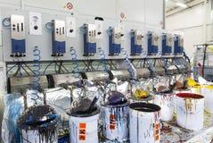 Press machinery Stock Photo