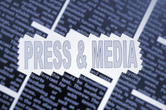 Press & Media Royalty Free Stock Images