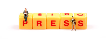 Press power Royalty Free Stock Images