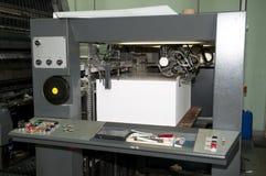 Press printing - Offset machine Royalty Free Stock Image